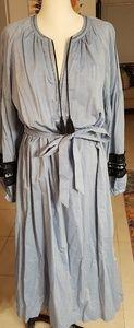 New Throw on Easy Peasant Type Dress XL